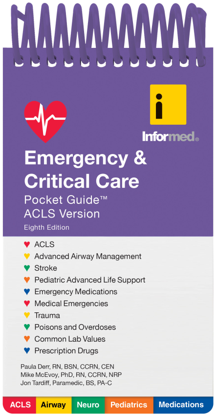 emergency and critical care pocket guide 2017