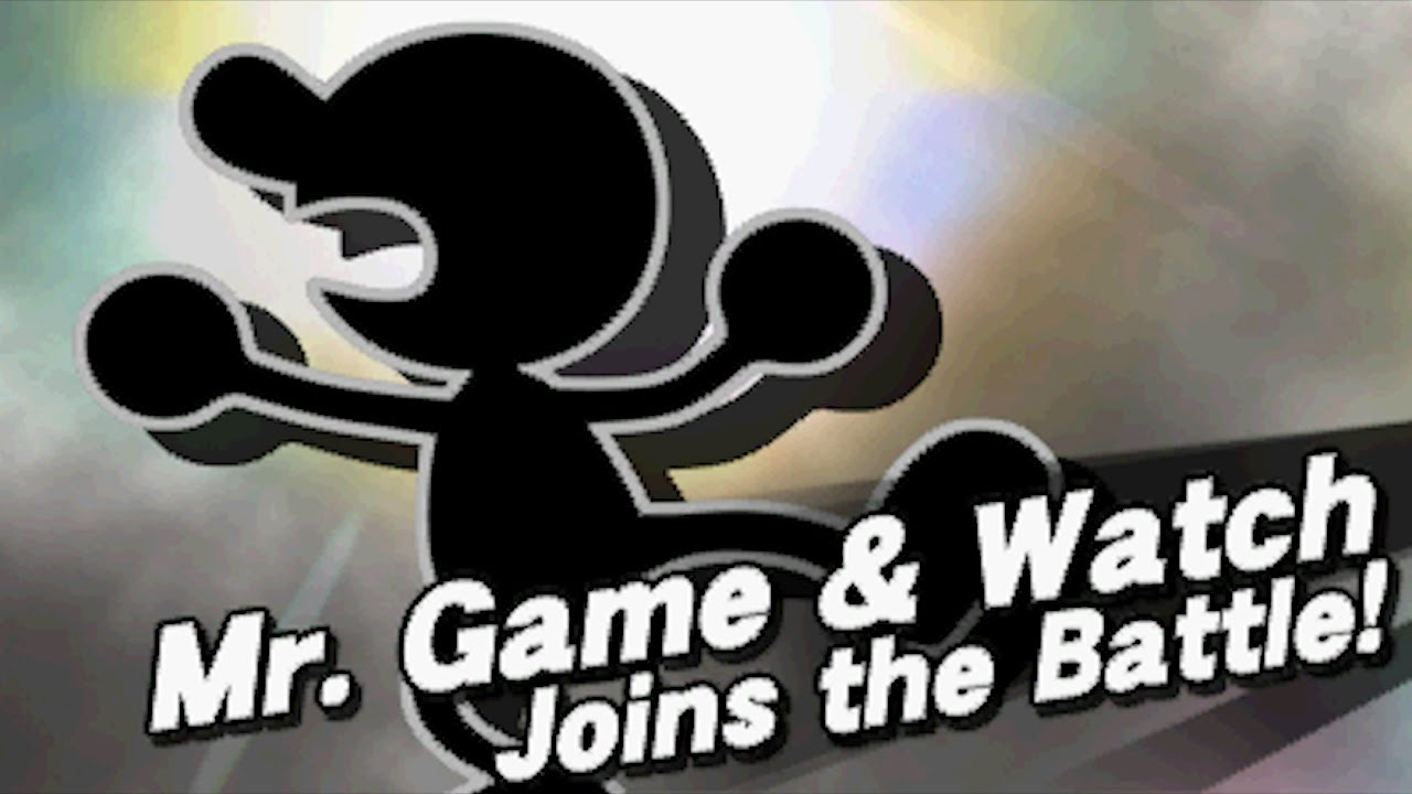 mr game and watch ssb4 guide