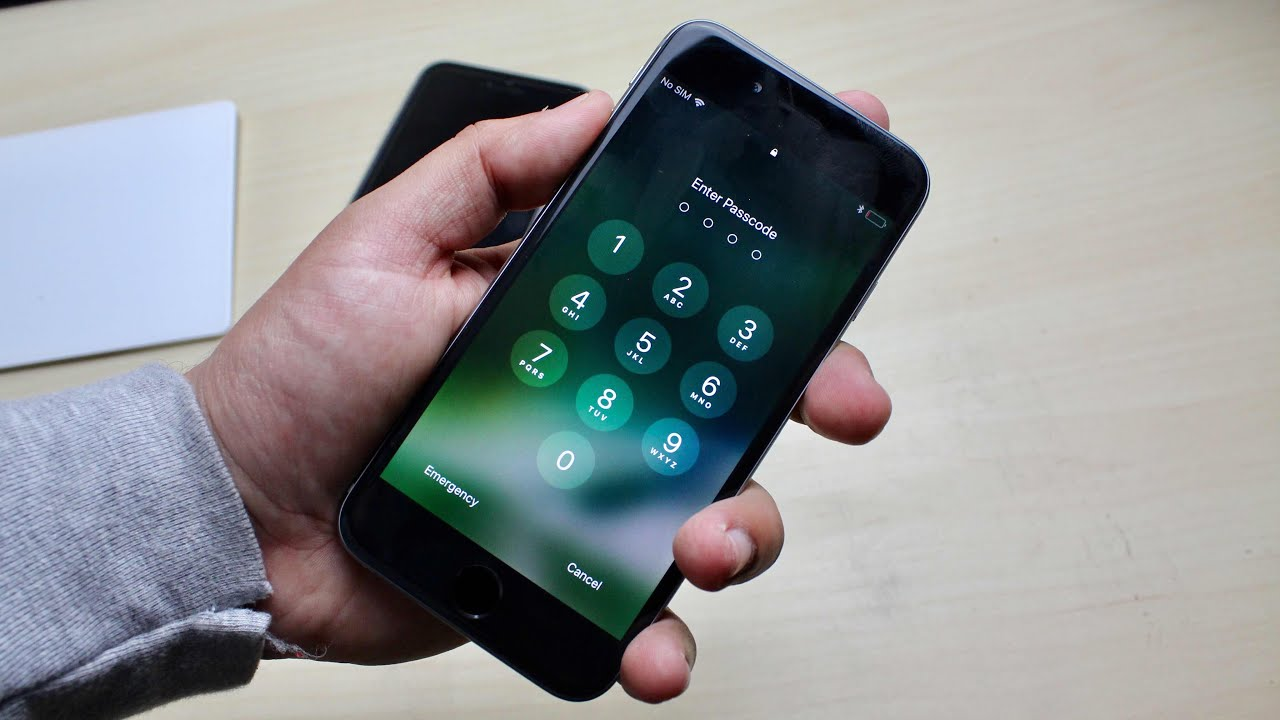 iphone 5 guided access passcode