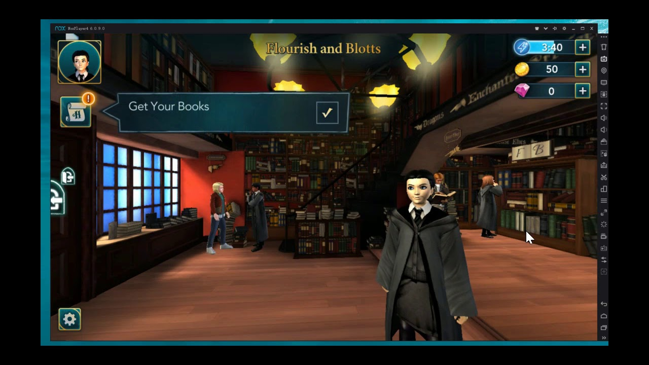 harry potter mystery game guide