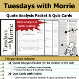 tuesdays with morrie anticipation guide