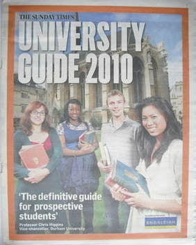 times and sunday times university guide