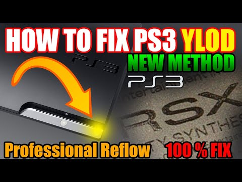 how to fix ps3 yellow light of death guide