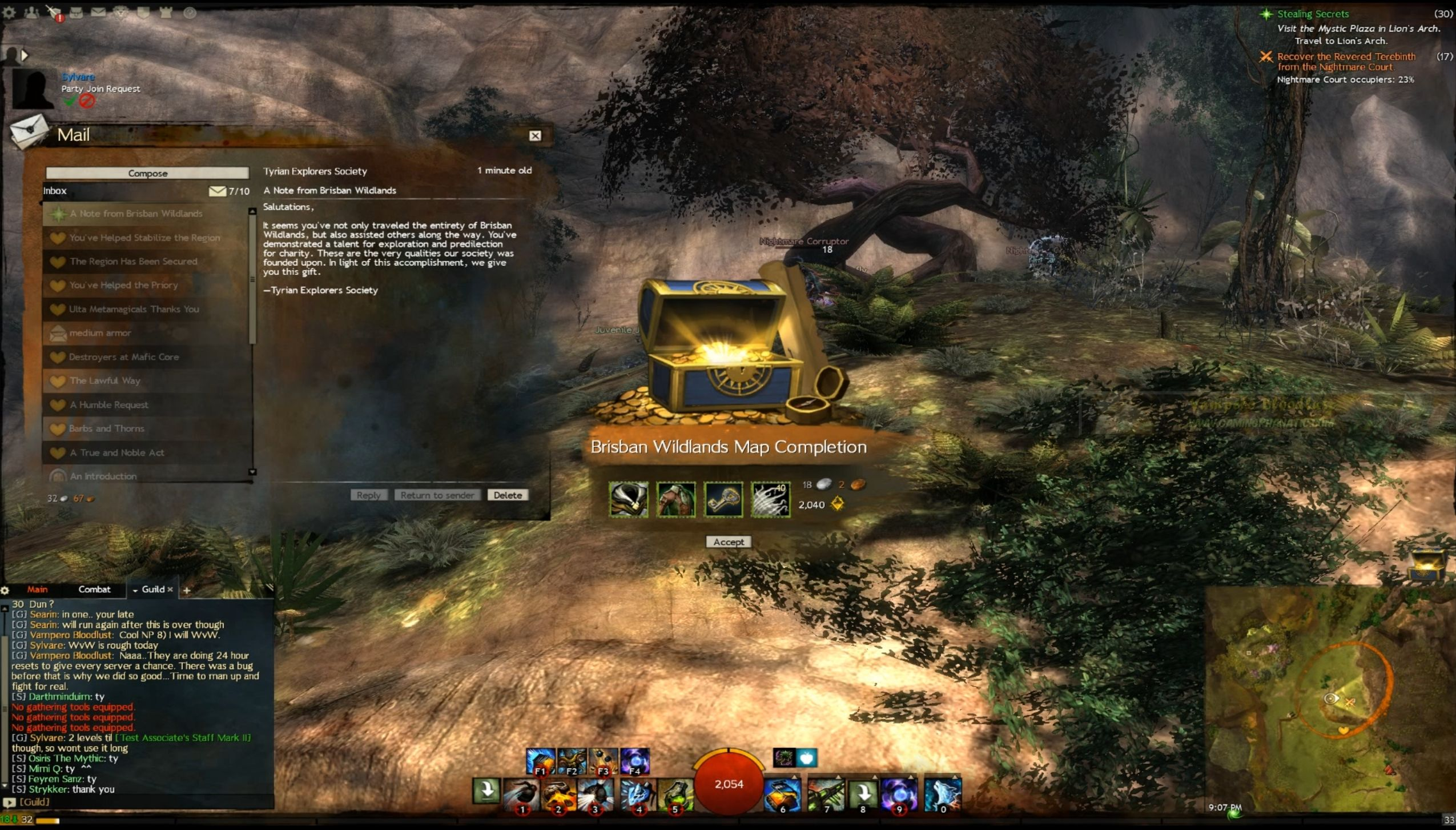 guild wars map completion guide