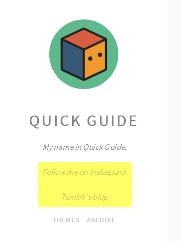 a href http quickguide.tumblr.com link to quick guide a