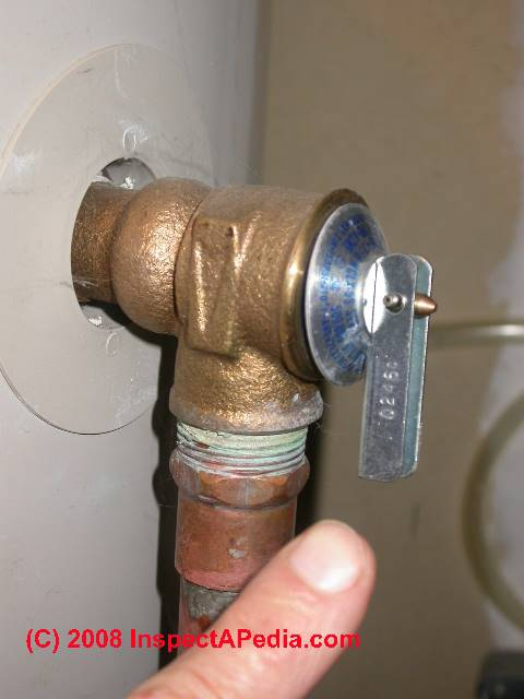plumbing guide for water valve pilots