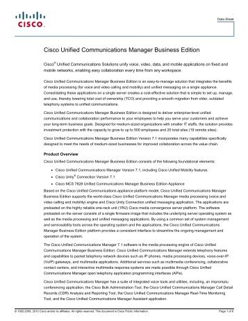 cisco unified communications manager session management edition deployment guide