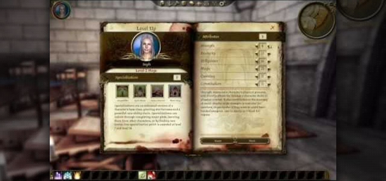 dragon age origins arcane warrior blood mage build guide
