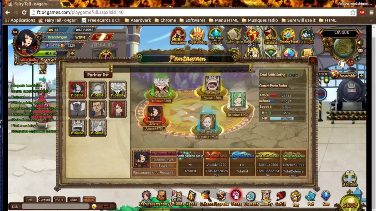 fairy tail online game guide