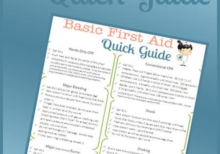 first aid quick guide download