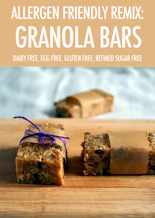granola bar canada food guide