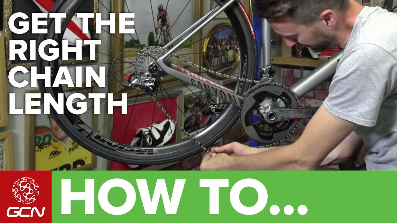 how to find correct chain guide