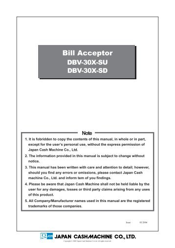mei ae2600 series bill acceptor installation guide