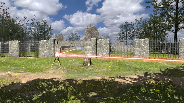 place behind wood wall in first are guide talos principle