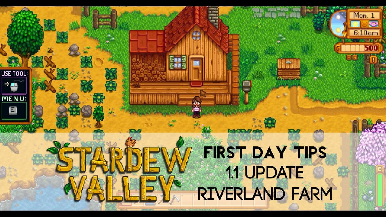 star dew valley first day guide