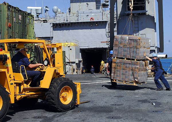 using guided missile to deliver disaster relief supplies