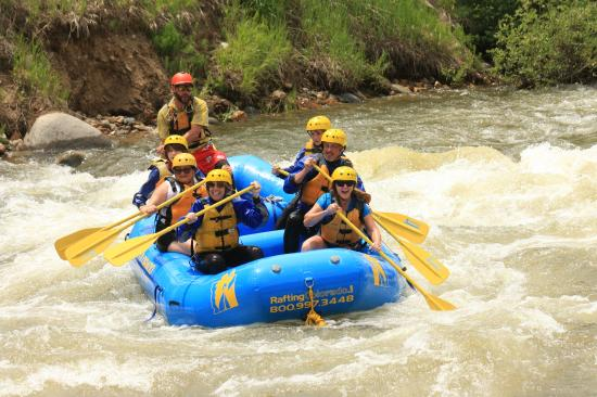 white water rafting guide colorado