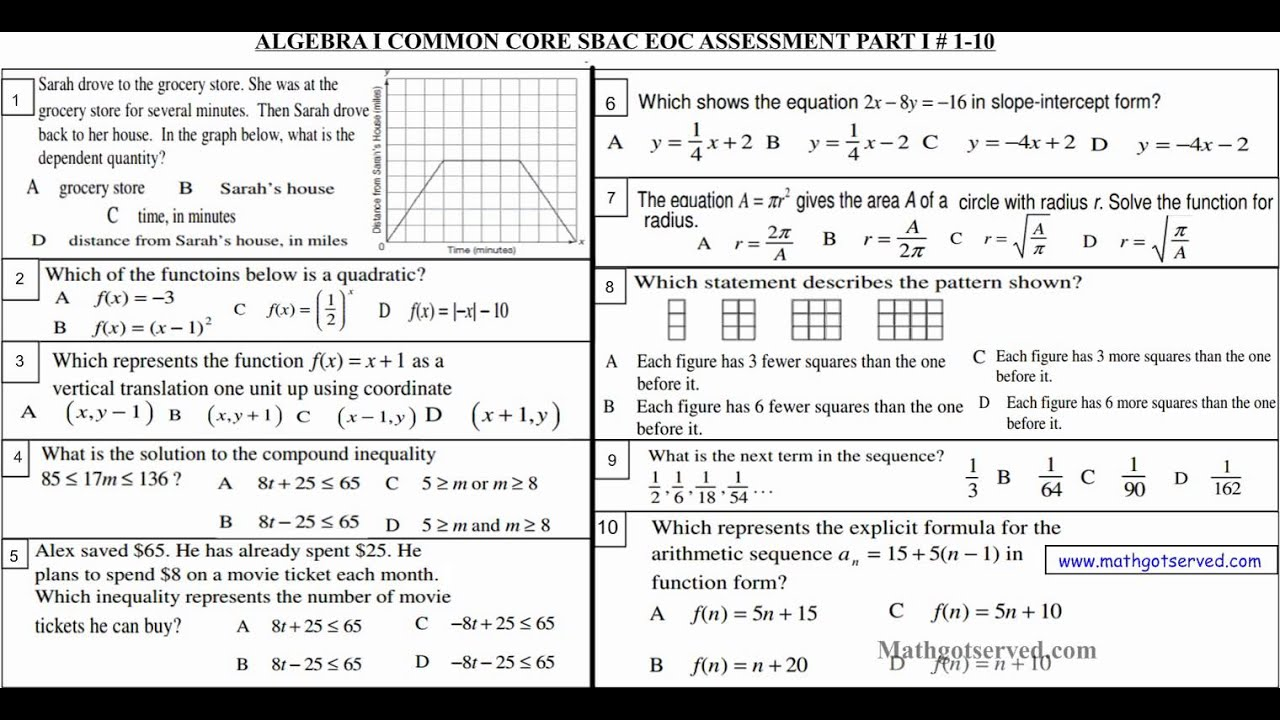year 10 maths excel study guide